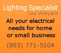 Click to Lighting Specialist of Knoxville on the web!